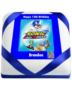 Sonic Free Riders Birthday Qake