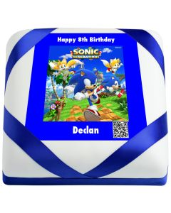 Sonic Generations Birthday Qake