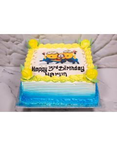 Minions Party Time Cake (FRZ C457)