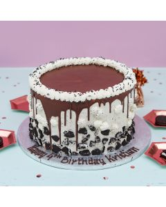 Crushed Cookies and Cream Drip Cake (FRZ A2719)