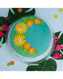 Tropical Flower Cake (CND184)