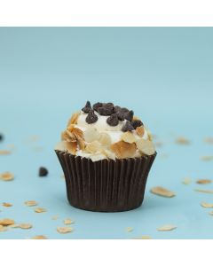 Chocolate Chip & Almond Vanilla Cupcake