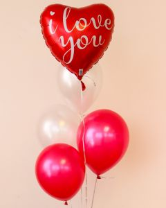Love Heart Balloon Bouquet (CND-BB15)