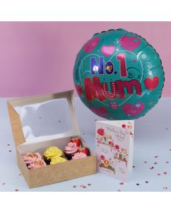 Mother's Day Special Cupcake Gift Set (BRCM A2555)