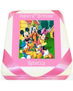 Mickey Mouse and Friends Birthday Cake