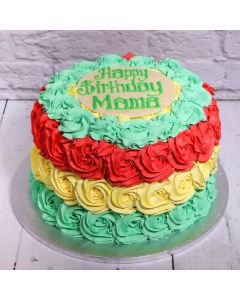 Mixed Colour Ombre Cake (FRZ A1821)